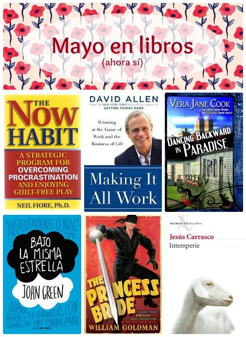 Mayo en libros