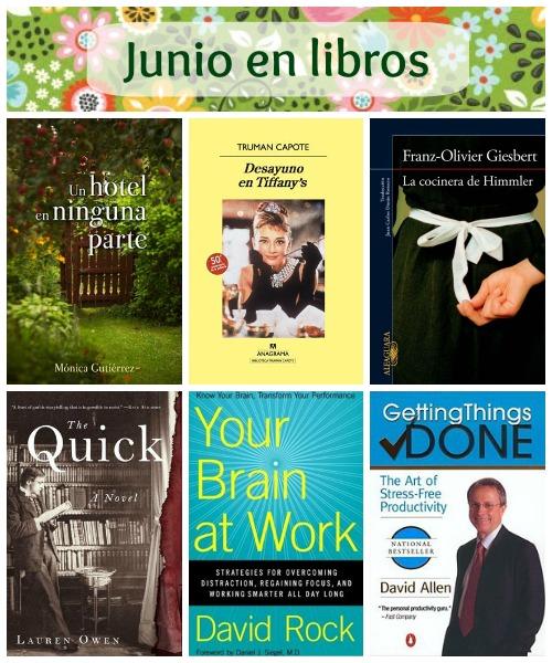 Junio en libros