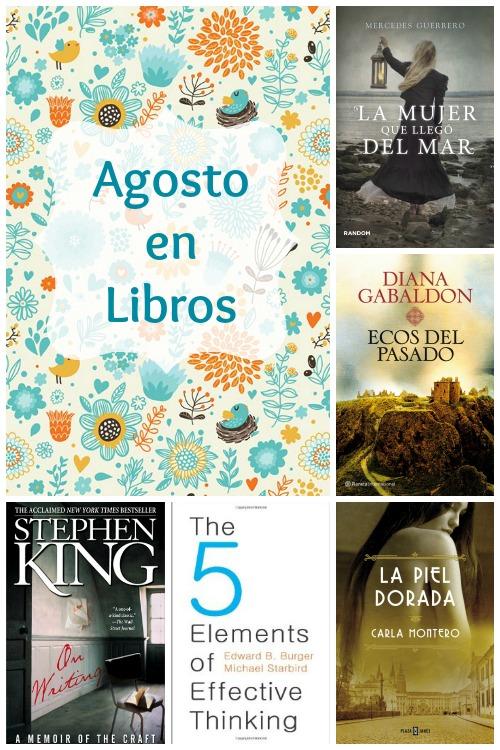 Agosto en libros