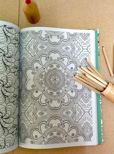 Arte antiestr s o sea libros para colorear - Libros para relajarse ...