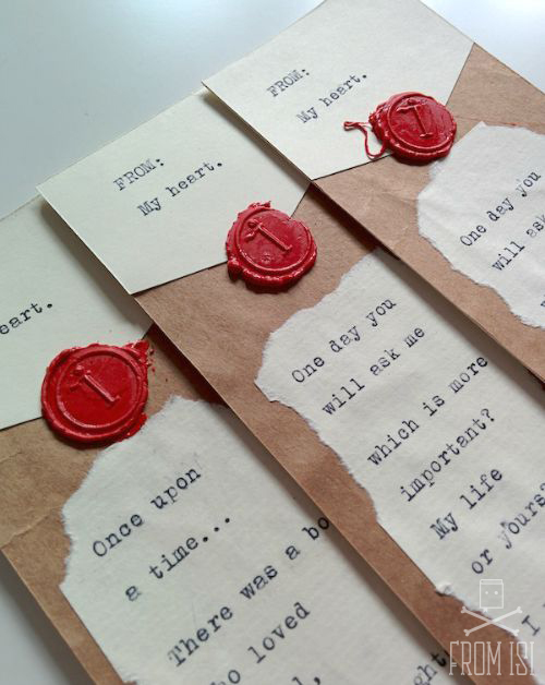 love letter bookmarks 4