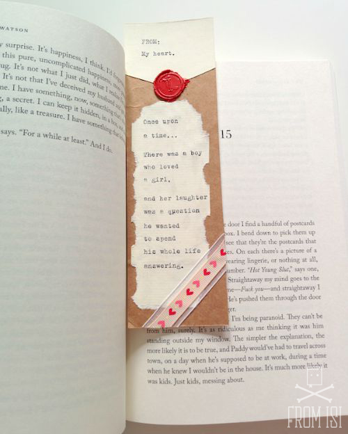 love letter bookmarks 5