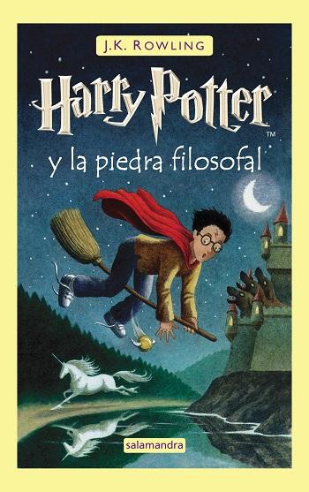 Harry Potter y la piedra filosofal, de J.K. Rowling